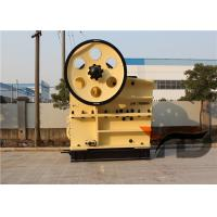 Buy cheap High Capacity Hydraulic Jaw Crusher 600 X 900 For Mining Cobble Secondary from wholesalers
