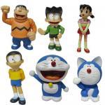 Quality Doraemon action figure,cartoon figure for sale