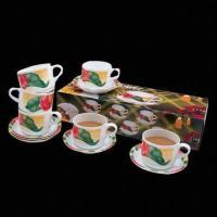 Quality 12-piece Melamine Coffee Cup and Saucer, Over 800 Melamineware Items for Selection for sale