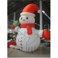 Quality hot sell inflatable Christmas snowman decoration, giant inflatable christmas snowman for ornaments for sale