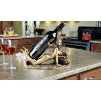 Quality Beautiful Mermaid Shaped Polyresin Sexy Wine Holder for sale