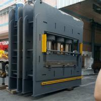 Quality 110kw Heavy Duty Hydraulic Press Machine Pushing Force 4000×3KN Material Copper for sale