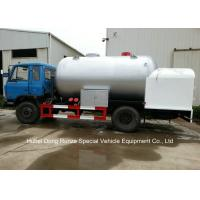Quality Road Bobtail LPG Gas Tanker With Mobile Dispenser , Bobtail Propane Delivery Truck for sale