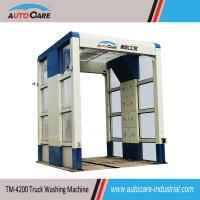 China Touch Free Heavy Duty Truck Washing Machine for conceret mixing plant on sale