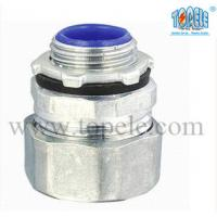 """Quality 1-1/2"""" Zinc Male Electrical IMC Pipe Connector For Rigid Compression Fittings for sale"""