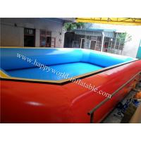 China giant inflatable pool slide for adult , custom inflatable pool toys,custom inflatable pool on sale