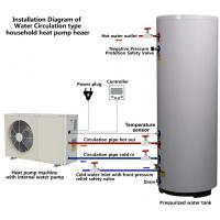 Quality Scroll Compressor Type Small Heat Pump Water Heater Residentail House Application for sale