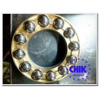 Quality P0 P6 P5 High Precise Thrust Ball Bearings With Chrome Steel , 60-64 HRC Hardness for sale