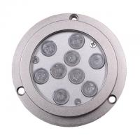Quality Anti-oxidation RGB External Control Boat Underwater LED Lights 27 Watt IP68 for sale