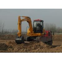 China Professional Rubber Tyre Wheel Bucket Excavator Operating Weight 6000kg on sale