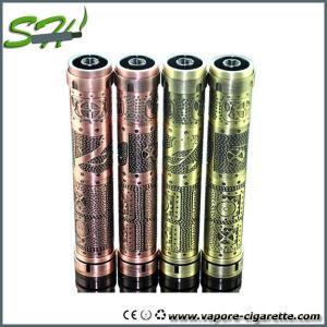 China 900mah 1000 Puffs Mechanical Mod E Cig Brass / Stainless Chiyou V3 Clone Mod on sale