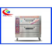 Quality Commercial Baking Equipment / Oven for Electric Fast Food Pizza Oven with wheel for sale