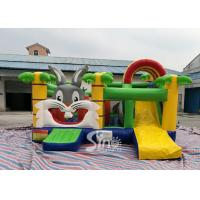 Quality Kids Party Jungle Rabbit  Inflatable Bouncy Castle for Indoor Inflatable Indoor Playground Fun for sale