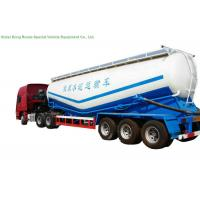 China V Type Cement Hauling Trailers With Diesel Engine For Dry Powder Meterial 60 - 65 M3 on sale