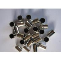 China Sliding  Stainless Steel Bushing , PTFE Self - Lubrication Multilayer Composite Bearings on sale