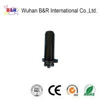 Quality Wall Mounted ABS 2 In 2 Out Dome Splice Closure for sale