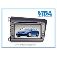 Quality China Supplier Two DIN Car DVD Player for HONDA 2012 Civic(left driving) for sale