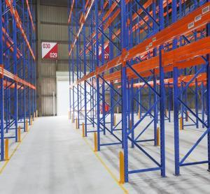 China Huichen Warehouse storage selective pallet racks heavy duty adjustable steel store racking on sale
