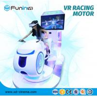 China High Speed Motion Racing Simulator / Virtual Reality Motion Simulator on sale