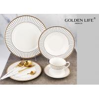 Quality Porcelain 20-pc Dinnerware Set ' Clovers ' For 4, New Bone China Porcelain for sale