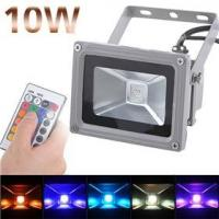 Quality Infared Outdoor Waterproof Led Floodlight Fixtures 10W RGB 900LM for hotel, landscape for sale