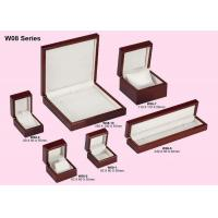 Quality Jewelry Packaging Boxes, Wooden Box Set For Ring / Earring / Pendant / Bracelet / Watch for sale