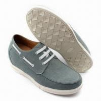 China Men's shoes with 7cm height increasing, in fashionable design on sale