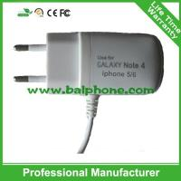 China Universal EU Wall Charger Usb Travel Charger With Micro USB Cable For HTC For Samsung on sale