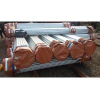 Quality ASTM A53 welded scaffolding tubes with hot dipped galvanizing for sale