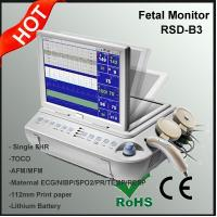 Quality Maternal ECG/NIBP/SPO2/PR/TEMP/RESP Monitoring Device, Multi Function Fetal Monitor for sale