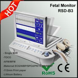 Quality Maternal ECG/NIBP/SPO2/PR/TEMP/RESP Monitoring Device, Multi Function Fetal Monitor for sale