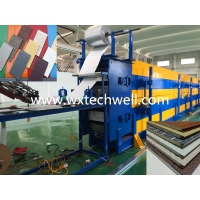 Quality PU Foam Insulated Interior | Exterior Metal Facade Wall Panel Making Machine for sale