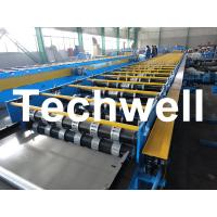 Quality Galvanized Steel Floor Deck Roll Forming Machine For Floor Decking Sheets for sale