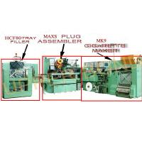 Quality Green High Speed Cigarette Making Machines With Filter Assembling And Tray Filler for sale