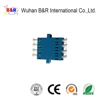 Quality ISO9001 LC Duplex Adapter For Telecom Network for sale
