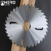Quality Laser Coating Gang Rip Saw Blades Stress Ring Processed With Rakers for sale
