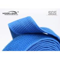 Quality Heat Resistance Elastic Hook And Loop Strap For Bags Soft Hand Feel for sale