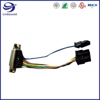Quality Control Box Soldering Wire Harness with DB15 add 43025 3.0mm Connectors for sale
