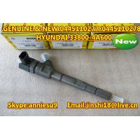 Quality Bosch Genuine & New Common Rail Injector 0445110277 0445110278 for HYUNDAI 33800-4A600 for sale