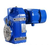 Quality 45kW F107/F127/F157 25.14/48.8/46.48 electric motor worm gear for sale