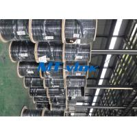 Welded Super Long Multi core Stainless Steel Coiled Tubing For Marine for sale