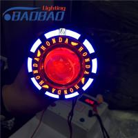 China LED13 motorcycle led projector lens,non-fan version with X-case, Honda, Yamaha, Toyota colorful angel eye,red blue devil on sale