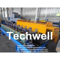 Quality automatic 4KW GI Coil 1.0mm Steel Stud Roll Forming Machine for sale