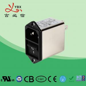 Quality Screw 250V EMI Power Filter 21*24 Switch For Coffee Vending OEM Service for sale