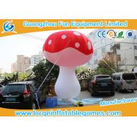 China Oxford Cloth Inflatable Mushroom Decoration Cartoon Characters For Event on sale