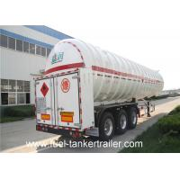 Quality Cryogenic liquified gas tank 60CBM chemical tank trailer SKW9400GDY for sale