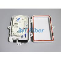 Quality FTTH Mini Outdoor Fiber Optic Distribution Box 1x4 PLC for sale