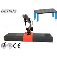 China Industrial MIG Welding Manipulator , Rotating Welding Positioner 7 Axis 8 Axis Linkage on sale