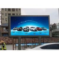 China Strong Cabinet 8mm Led Screen / Led Advertising Board For Banks / Hospitals on sale