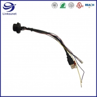 Quality Middle IP67 300V PUSH - LOCK Connector Wire Harness for Mouse Keyboard for sale